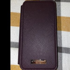 Kate Spade iPhone wallet case